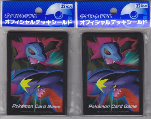 Pokemon Card Official Sleeve Hydreigon Garchomp 2 Packs (64) Set