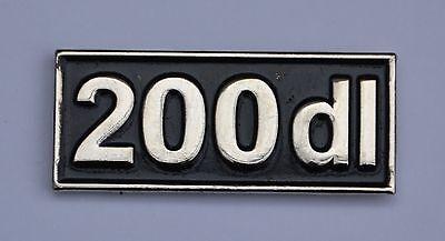 200dl - MOD SCOOTER ENAMEL PIN BADGE