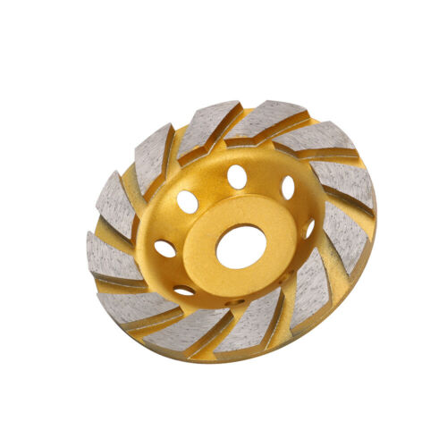 "5/"" Diamond Segment Grinding Wheel Cup Disc Grinder for Concrete Granite Stone"