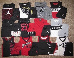 Air-Jordan-Set-Boy-039-s-Shirt-Shorts-Size-12-Months