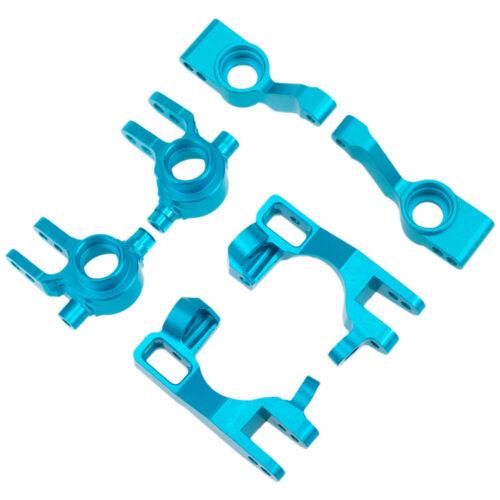 Alloy Steering Blocks C-Hub Carrier Set For RC 1//10 Traxxas Slash 5807 4x4
