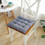 16-034-Cotton-Seat-Pads-Dining-Patio-Home-Kitchen-Office-Chair-Cushions-with-Tie-on thumbnail 14