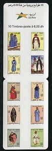 Marokko-2005-Trachten-Brauchtum-Trad-Costumes-Folklore-Markenheft-1489-98-MNH