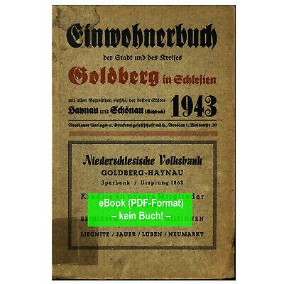 Adressbuch Reichenbach Eulengebirge Schlesien 1943 Dzierżoniów AB347 eBook