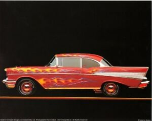 Details about Chevy Bel Air 1957 Vintage Classic Car Wall Decor Art Print  Poster (16x20)