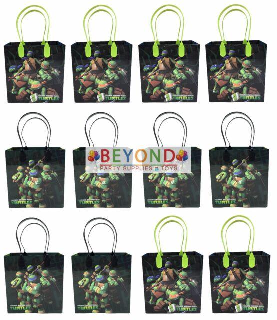Ninja Turtles Tmnt Goody Bags Party Favor Goo Gift Birthday