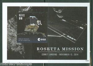 NEVIS-2015-ROSETTA-MISSION-SHEET-MINT-NH