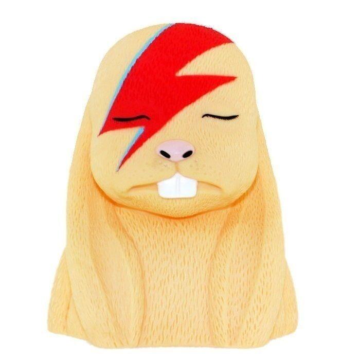 Original Aleppin Sane 8  Vinyl Rabbit by Jermaine Rogers Aladdin David Bowie NEW