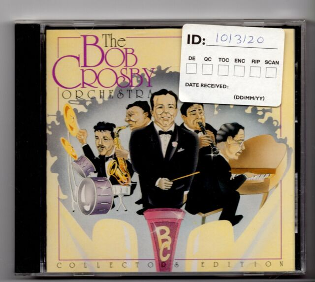 (JG480) The Bob Crosby Orchestra, 16 tracks - 1990 CD
