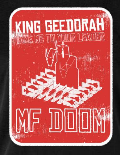 King geedorah llevarme a su líder MF Doom Hip Hop camiseta Negro
