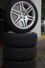 4 Sommerreifen 245/40 ZR17 Alufelgen Mercedes AMG A2044014602 C-Klasse W204 u.A.