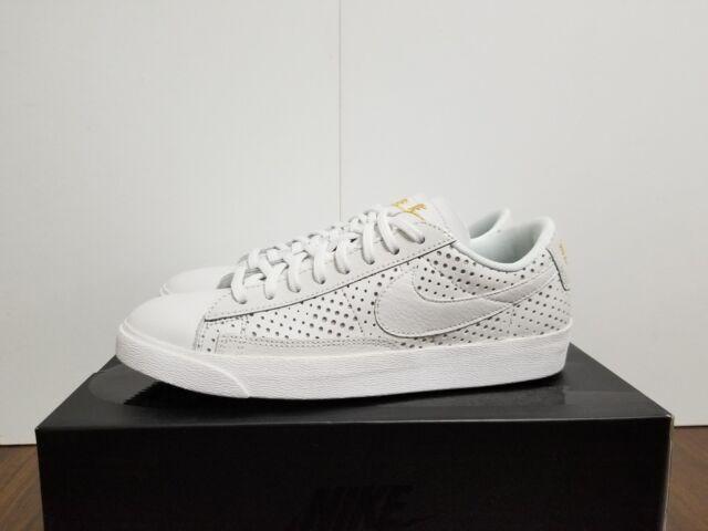 separation shoes e3a2c 12549 WMNS NIKE BLAZER LOW SE PRM SUMMIT WHITE/SUMMIT WHITE AA1557 100