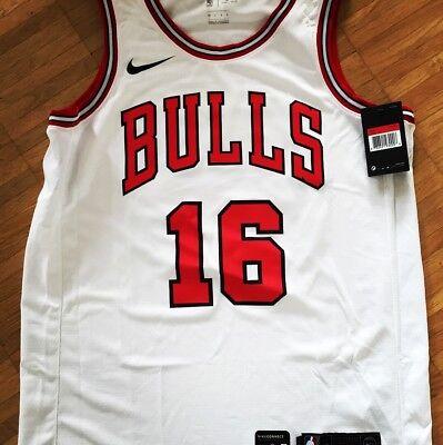 Aufrichtig Basketball Trikot Chicago Bulls M Personalisiert Paul Zipser #16 Swingman Nike Trikots Sport