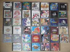 Alucinante lote de 40 juegos Playstation. Todos completos. Versión japonesas.