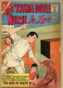 Cynthia-Doyle-Nurse-In-Love-71-1963-gd-vg-3-0-Charlton-Romance