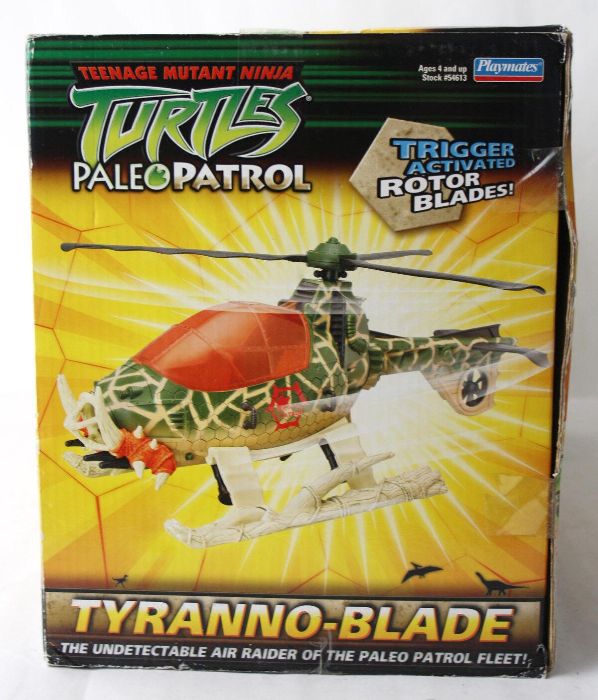 VERY VERY VERY RARE TMNT NINJA TURTLES TYRANNO BLADE HELICOPTER PALEO PATROL NEW   48f91d