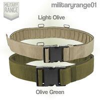 Marauder PLCE Belt - L.Olive / Olive Green - British Army Multicam MTP - UK Made