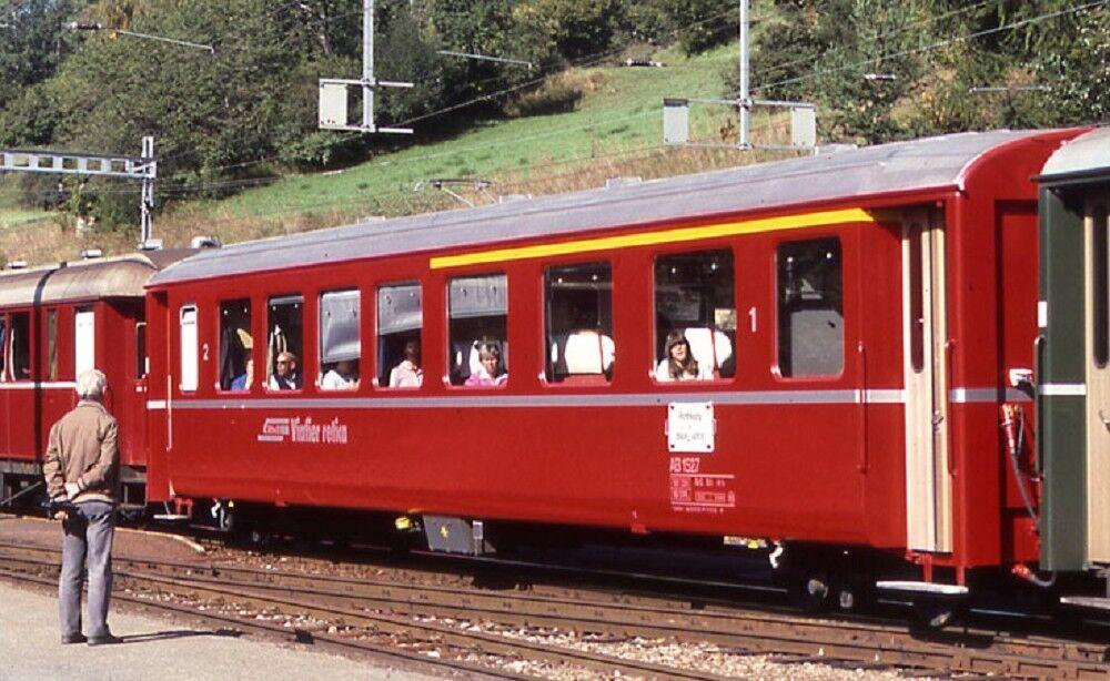 Bemo 3251127 unidad coche 1. 2. clase EW I a partir de 1527 de la RHB