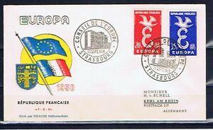 FRANCE - Europa CEPT 1958 - FDC - Sept 13, 1958 - France - Année d'emission: 1958 - France