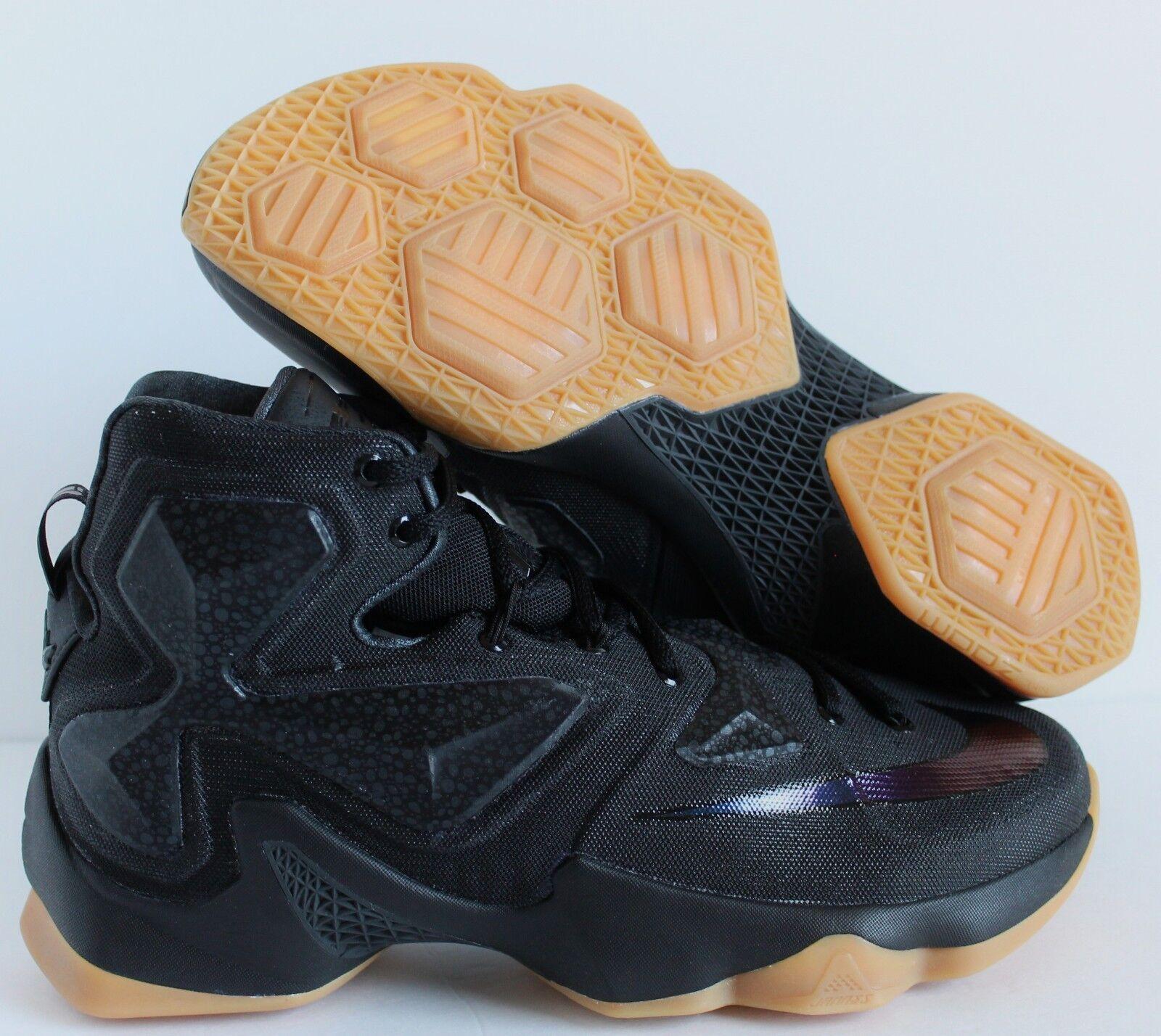 Nike de Negro LeBron XIII 13 temporada Negro de Negro anthracite reducción de 4a3cda
