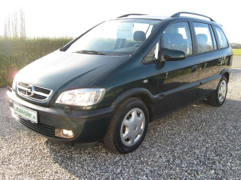 Opel Zafira 1,8 16V Comfort aut. Benzin aut. Automatgear