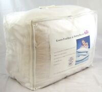 8 Ft Caesar Bed Size White Goose Feather & Down 10.5 Tog Duvet Quilt