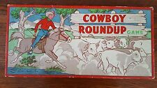 Cowboy Roundup by Parker Brothers Vintage Board Game