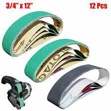 """E/&M Knives 3//4/""""x12/"""" custom replacement belt kit for WS Ken Onion sharpener BEST!"""