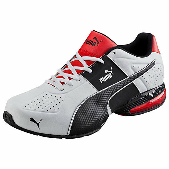 Modern And Elegant :NEW** PUMA CELL SURIN 2 MEN'S TRAINING SHOES White Red Scarlet Black 188413-01:Gentlemen/Ladies