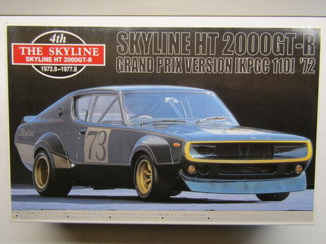 Aoshima 1 24 Scale (The 4th) Nissan Skyline HT2000GT-R KPGC Race Model Kit - New