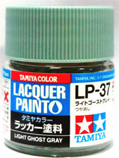 Tamiya Lacquer Paint Color Lp-37 Light Ghost Gray 10ml Color Model Kit