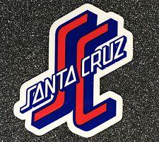 Santa Cruz Sticker Skateboard Sticker red and blue 3 inches OGSC si