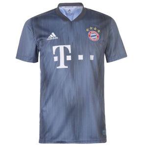 adidas-Men-039-s-Bayern-Munich-18-19-Third-Jersey-Raw-Steel-Utlity-Blue-DP5449