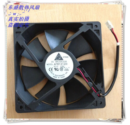 Delta 12V 0.35 12025 12CM chassis power supply large capacity cooling fan AFB121