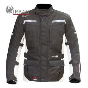 Merlin-Columbia-Black-Ice-2-in-1-Airbag-Ready-Textile-Motorcycle-Jacket-NEW