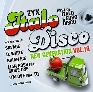 CD-ZYX-Italo-Disco-New-Generation-Vol-10-von-Various-Artists-2CDs