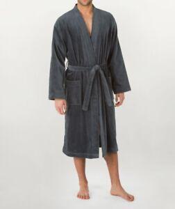 Kleidung & Accessoires Nachtwäsche Calida Bademantel After Shower L Grau 68510 Und Verdauung Hilft