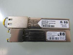 453154-B21 453578-001 453156-001 HP VIRTUAL CONNECT 1Gb RJ-45 SFP
