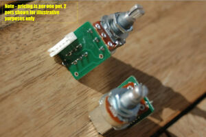 one epiphone push pull potentiometer for les paul pro coil. Black Bedroom Furniture Sets. Home Design Ideas