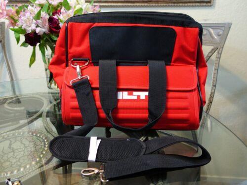 "Hilti Medium 15/"" Heavy Duty Tool Bag Pockets Construction 15.7/""x 13.4/""x 11.8/"""