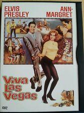 "Lot Elvis Presley 4 DVD's - Viva Las Vegas ""Jailhouse Rock"" Speedway ""Spinout"""