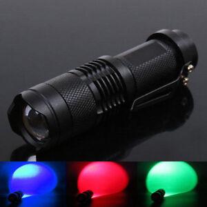 Q5 2000LM LED Taschenlampe 3 Modus Fokus Zoomable Taschenlampe Licht Lampe.