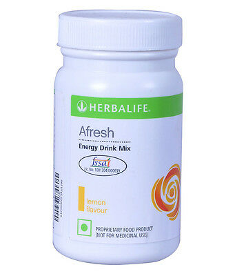 Herbalife-Afresh- Energy Drink Lemon ( Pack Of 2) Flavor Fresh Stock.