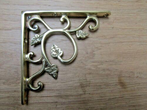 Cast Iron Vintage Rustic Shelf Bracket Support book Sink Cistern