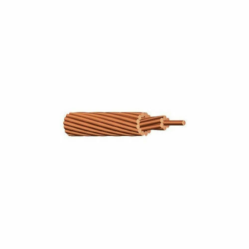 1B-0407 4 AWG 1 Conductor STRANDED BC UNINSULATED Unshielded Cable