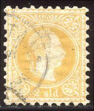 AUSTRIA Office in Turkey #7c SCARCE Used - 1883 2sld Yellow