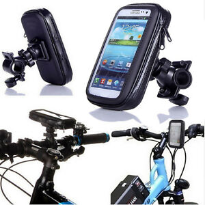 Universal-Waterproof-360-Degree-Bike-Bicycle-Phone-Case-Mount-Holder-For-Mobiles