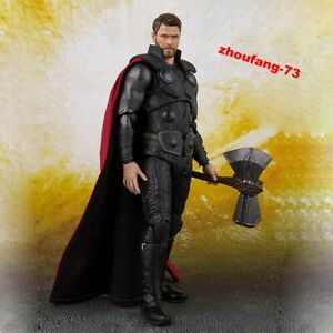 SHF-S-H-Figuarts-Marvel-Avengers-Infinity-War-Thor-Action-Figure-New-In-Box