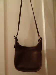 Image is loading Vintage-COACH-Janice-Legacy-Brown-Leather-Shoulder- Crossbody- dd67d8bbc45cf