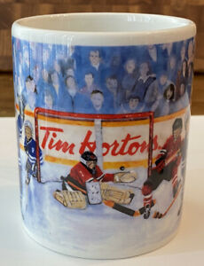 TIM HORTONS Limited Edition Winning Goal Hockey Coffee Mug Cup No.002 series N